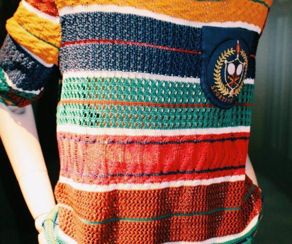 Top de punto tricot